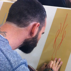 Pinstriping and Lettering